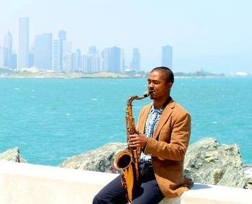 Darius Hampton (jazz) lake shot