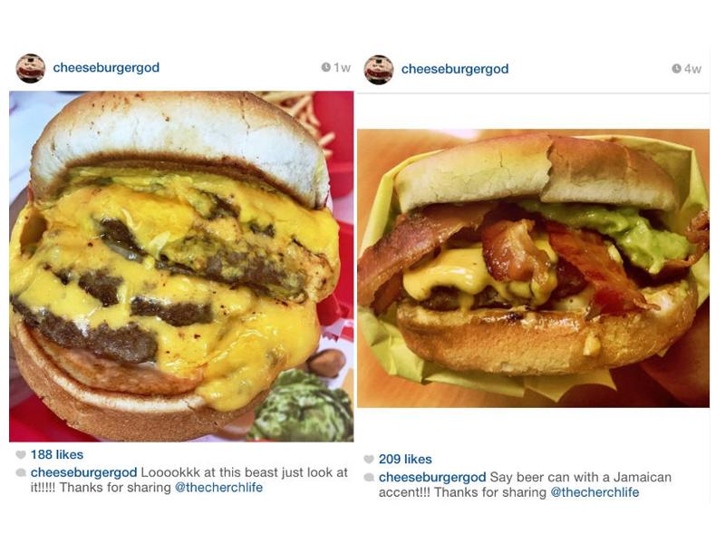 The Cherch Life on CheeseburgerGod