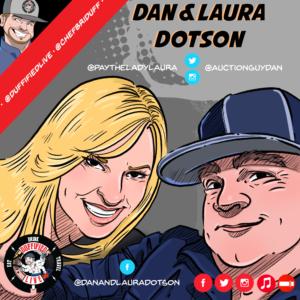 """Dan & Laura Dotson of A&E's """"Storage Wars"""""""