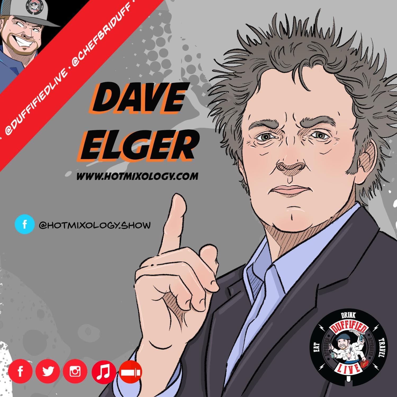 Mixologist Dave Elger