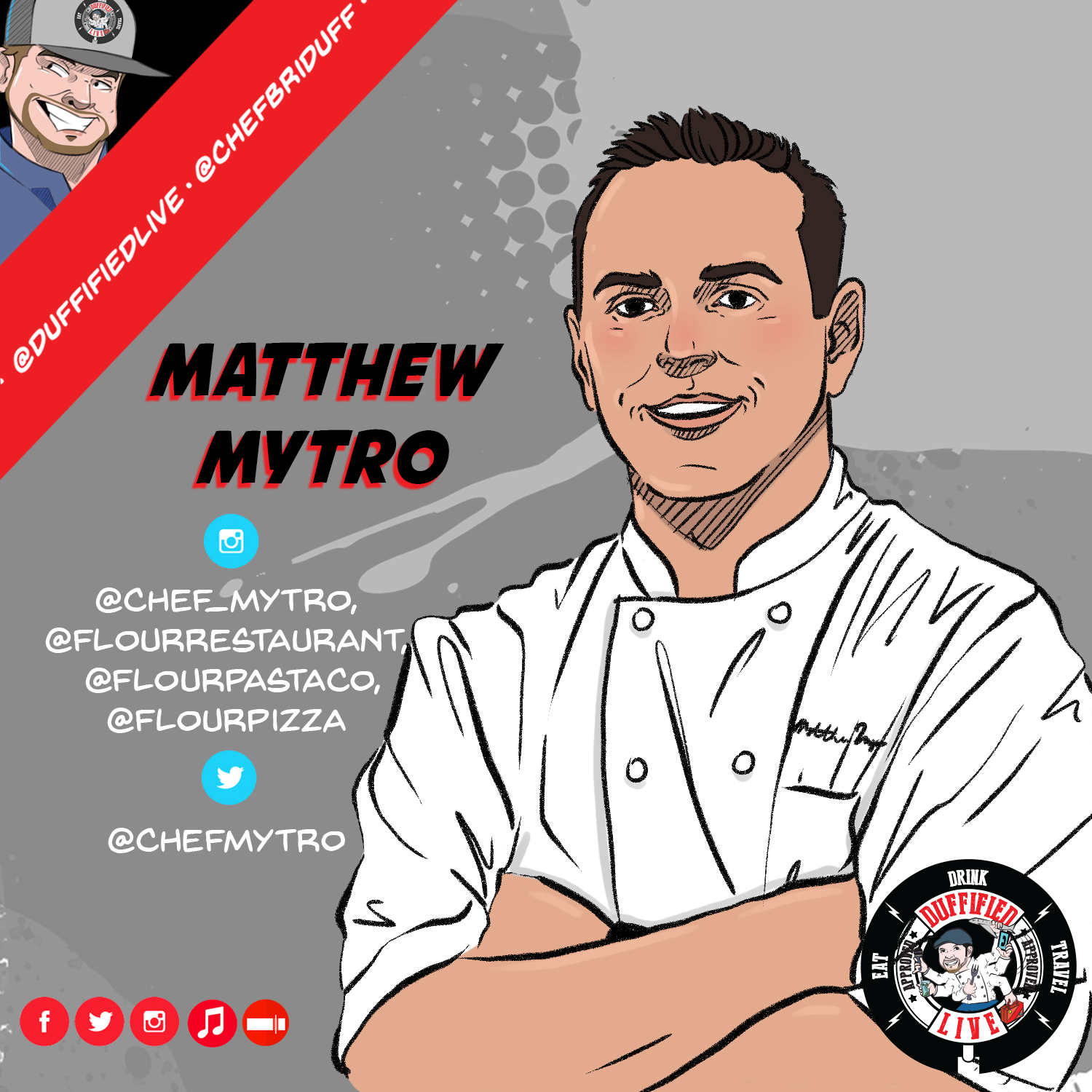 Chef Matthew Mytro Of Cleveland's Flour Restaurant & Pasta Company