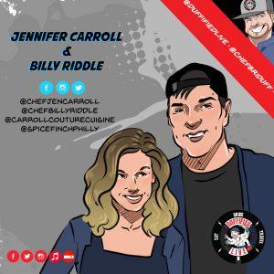 Chefs Jen Carroll & Billy Riddle
