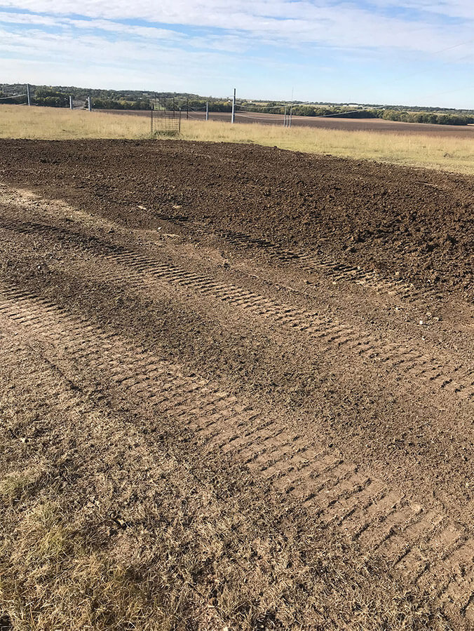 Soil On Soil Conditioning Project Midway Through