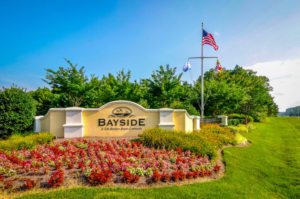 Bayside Berlin MD sign