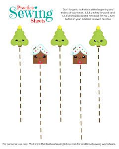 Straight Lines Christmas