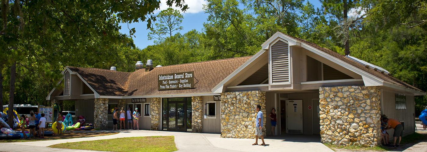 General Store at Ichetucknee Springs State Park