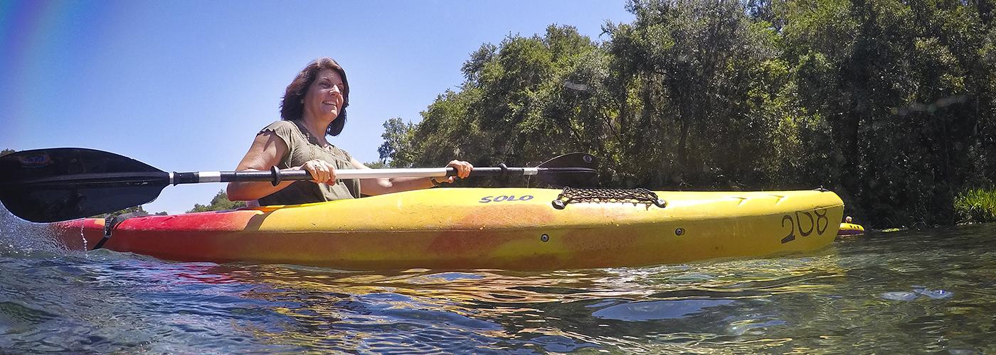 Kayak at Ichetucknee Springs State Park
