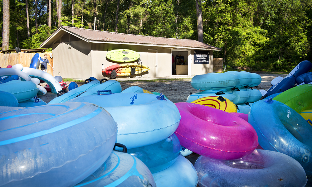 Tube Rental in Ichetucknee Springs State Park