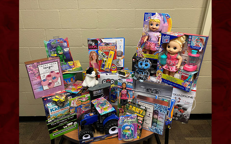 MCCC Collects Toys For Tots