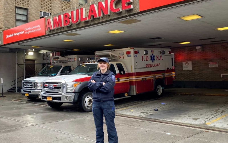 MCCC Grad Helps FDNY During Pandemic