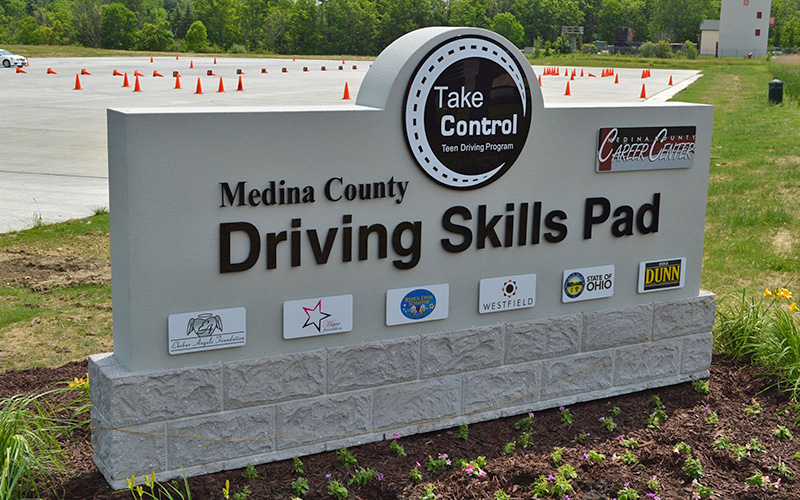 MCCC Hosts Driving Skills Pad on Campus