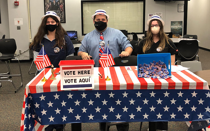 Mock Election at MCCC