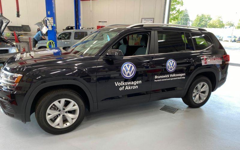 Brunswick Auto Mart & Volkswagen Donate SUV