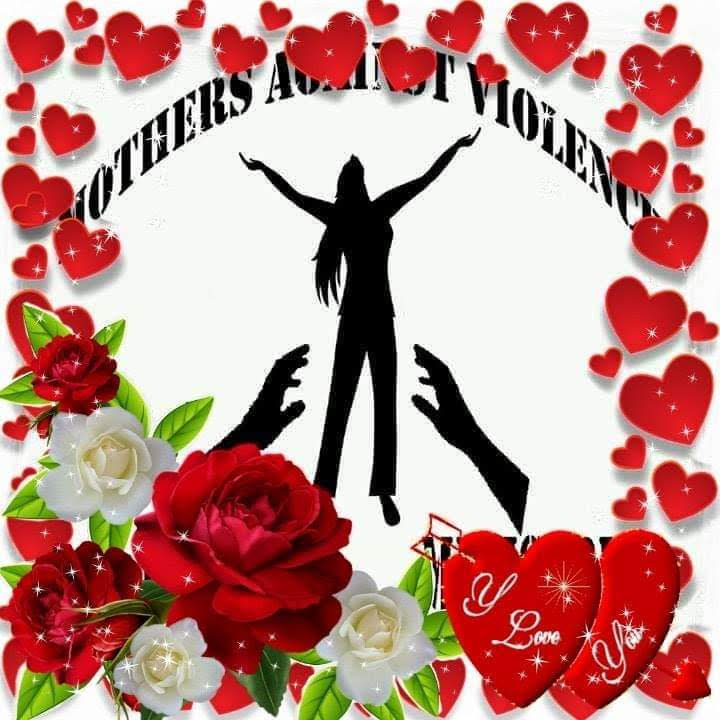 Mothers Against Violence Hearts