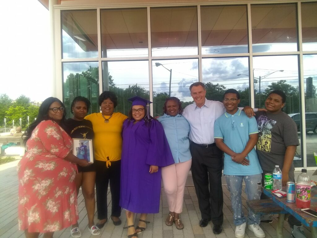 Mothers Against Violence Healing Ministry with Indianapolis Mayor Joe Hogsett