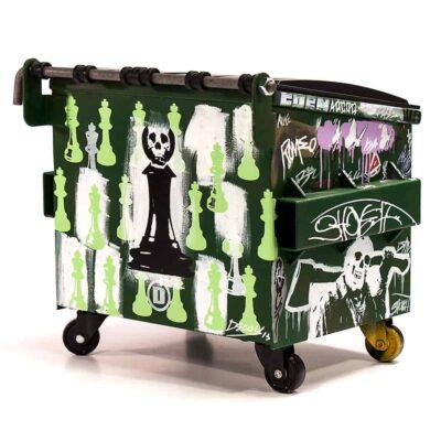 Skull Wagon Rear
