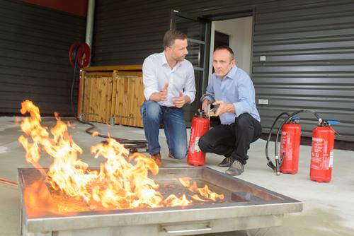 fire extinguisher training image