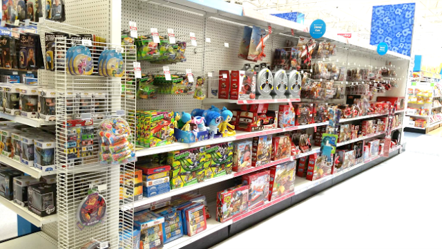 Toys R Us Inside Out merchandise