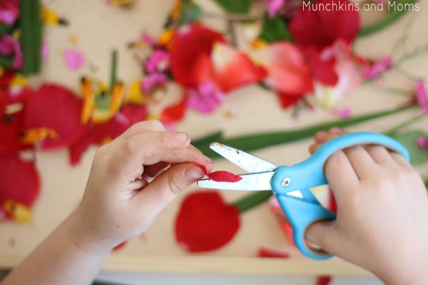 preschool scissor practice