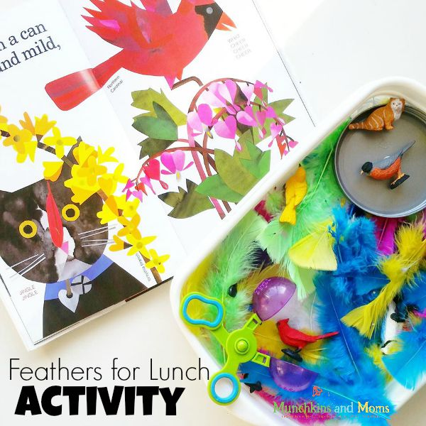 Feathers For Lunch | Great for a preschool bird unit!