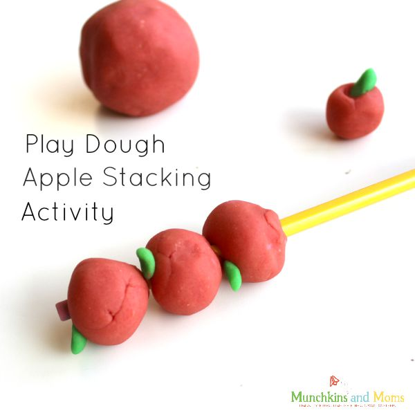 A fun preschool activity that would coordinate great with 10 Apples up on Top!