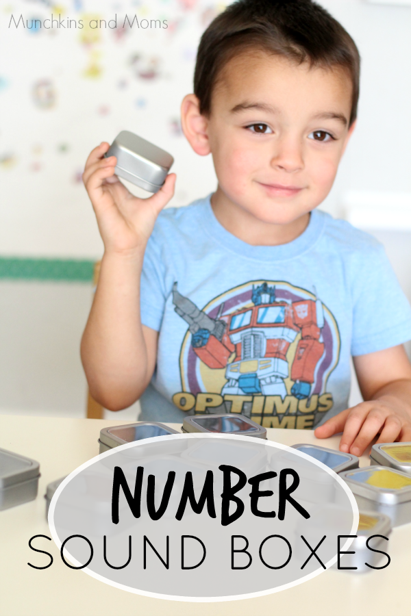 Expolre Numbers through sound! A great preschool activity that covers several math concepts!