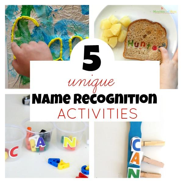 5 unique name recognition activities