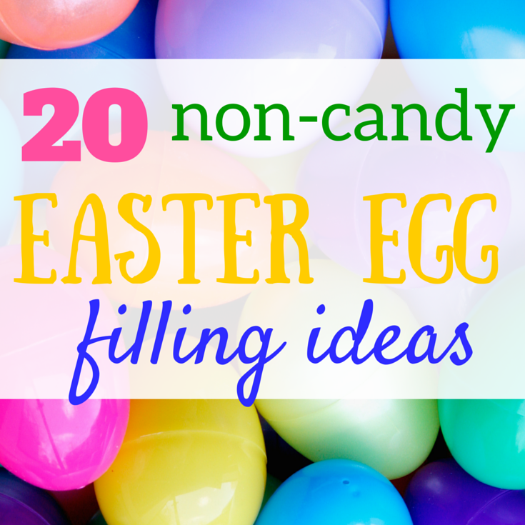 20 non-candy easter egg filling ideas