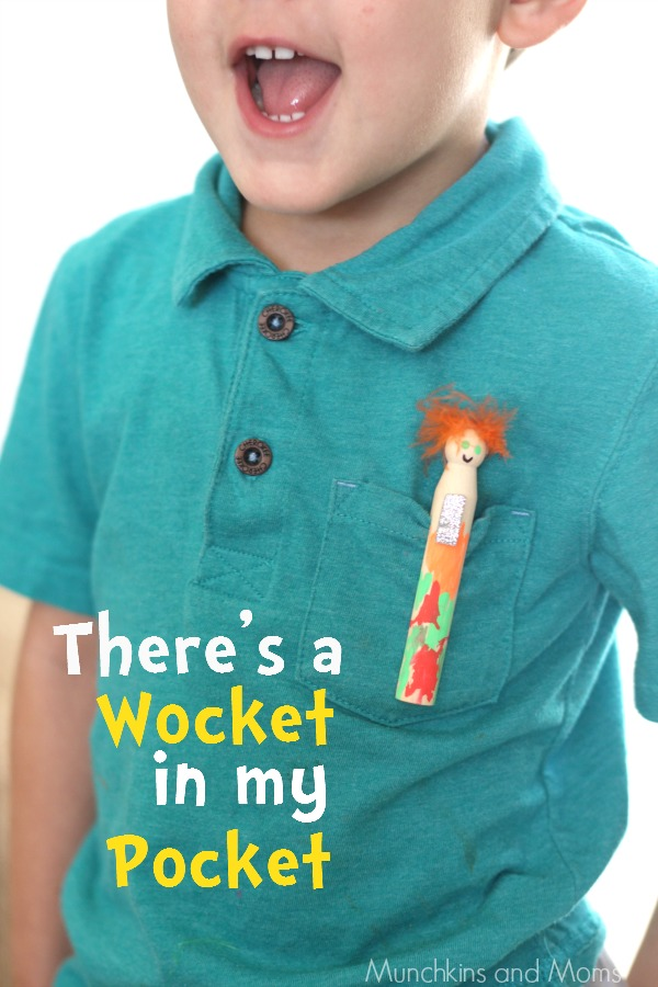 There's wocket in my Pocket Seuss craft