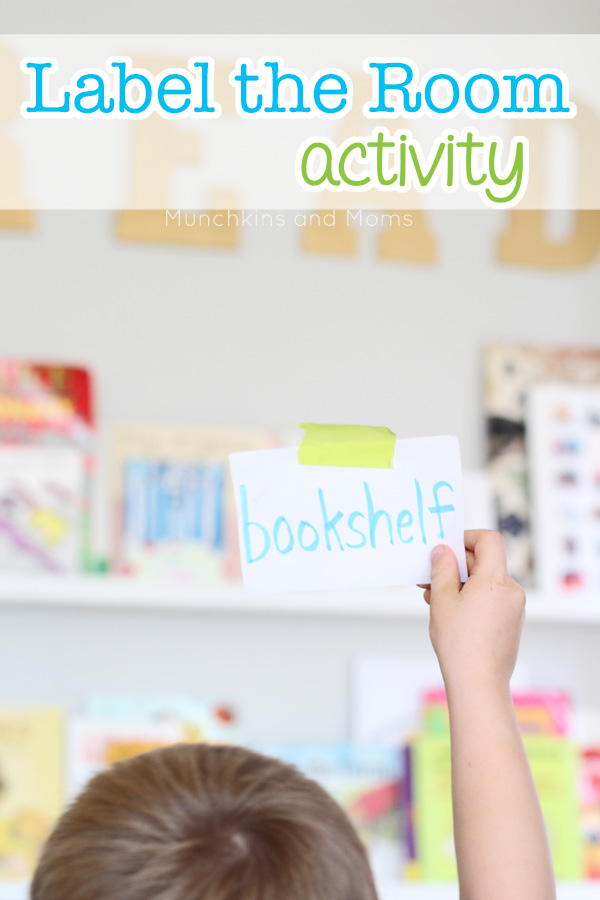 Label the room pre-reading activity
