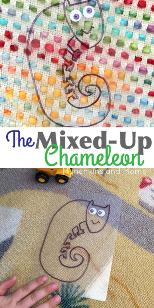 Mixed-Up Chameleon Hide-and-Seek Activity