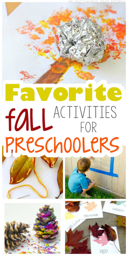 Fall is a beautiful time for preschoolers to explore nature. Get them thinking, learning, and having fun with these 30 favorite fall ideas just for them!