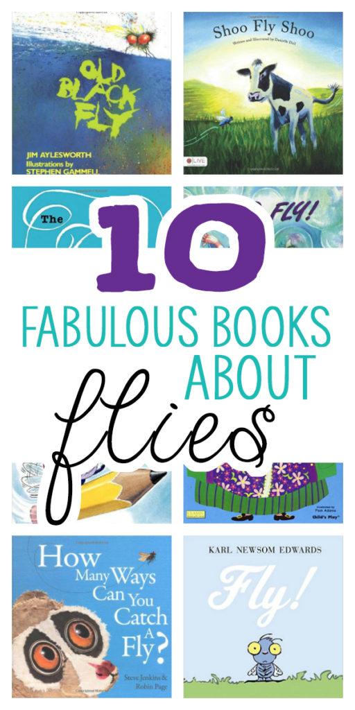 Who would have thought there would be so many great children's books about flies?!? These are really great choices for preschoolers and up!