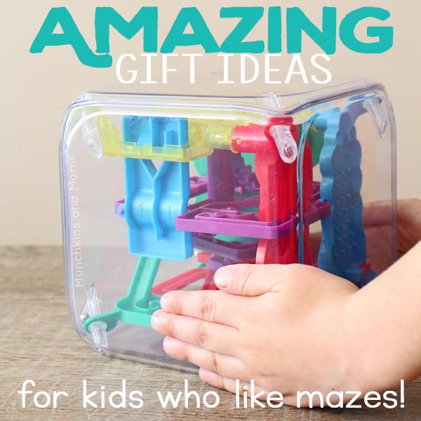 Amazing Gift Ideas (for kids who like mazes!)