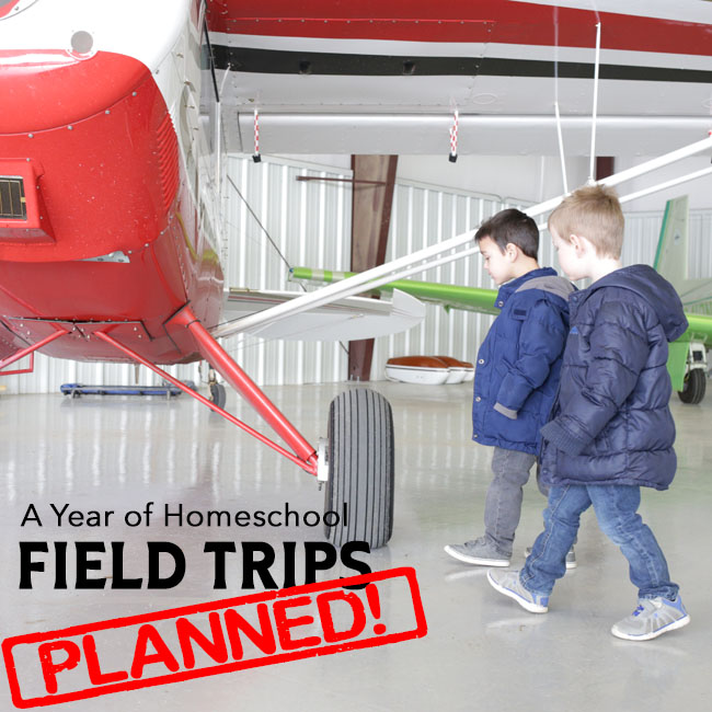 Plan a year's worth of field trips with these ideas! Great list for homeschoolers or just for family outings!