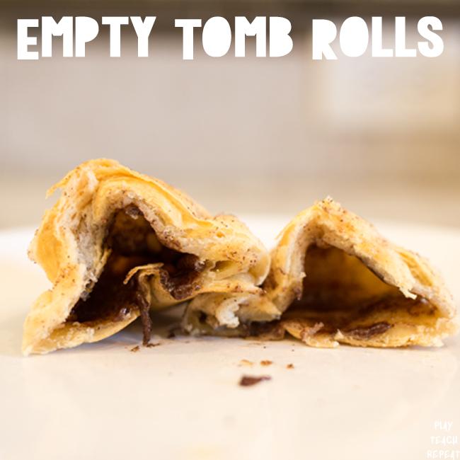 Empty Tomb Easter Rolls