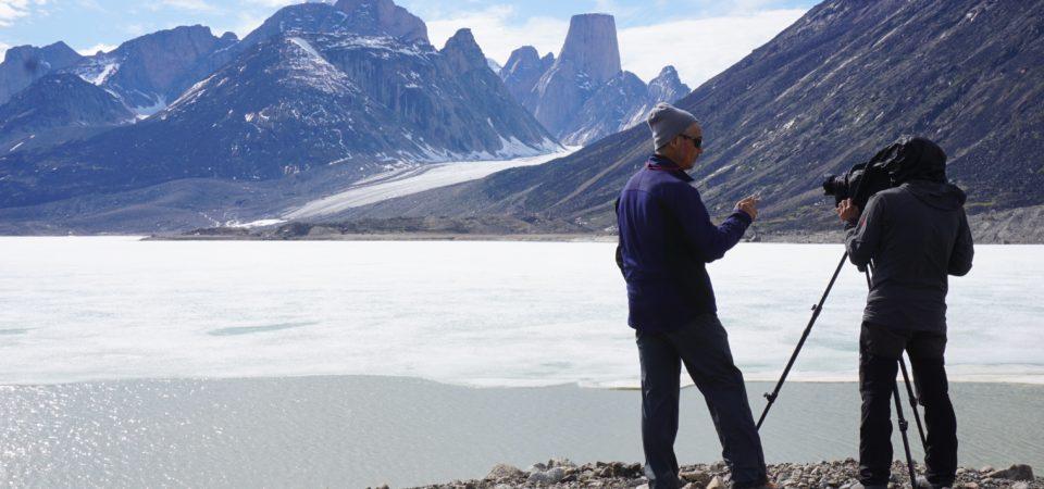NHK グレートネーチャー「地球最古の大地に奇跡の花園~北極圏バフィン島の夏~」 (ロケ地:カナダ・ヌナブト準州バフィン島)