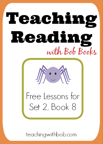 How to teach phonics rules using Bob Books Set 2, Book 8.