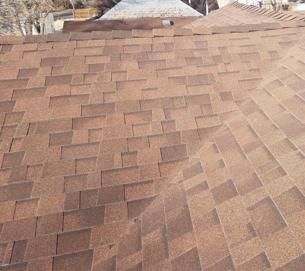 Malarkey Legacy Shingle - Antique Brown / Color Matched High Ridge