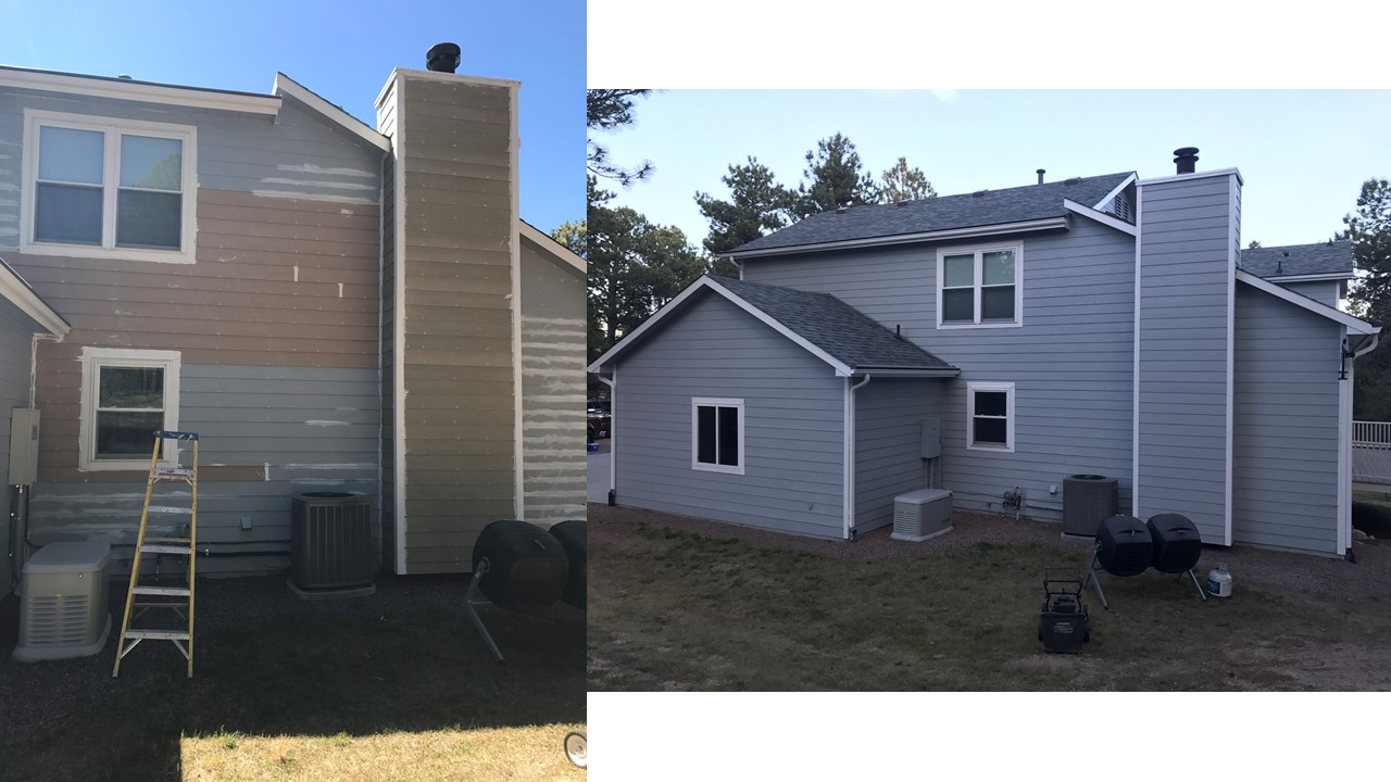 Replacement Siding / Sherwin Williams Paint