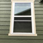 Simonton Single Hung Window / Sherwin Williams Paint