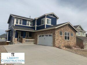 Malarkey Vista Roof System / Mastic Gutters / Simonton Windows / Sherwin Williams Paint