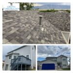 Malarkey Vista Roof / Sherwin Williams Paint / Mastic Aluminum Gutters