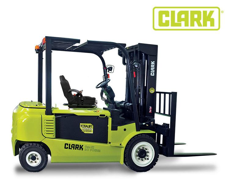 Clark Electric 4 Wheel Pneumatic 10000
