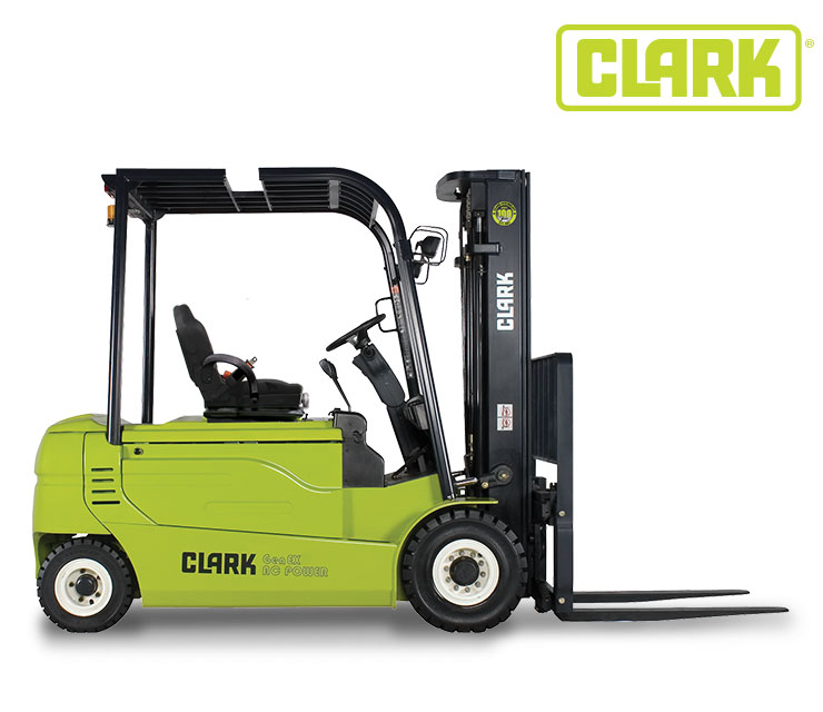 Clark Electric 4 Wheel Pneumatic 6500
