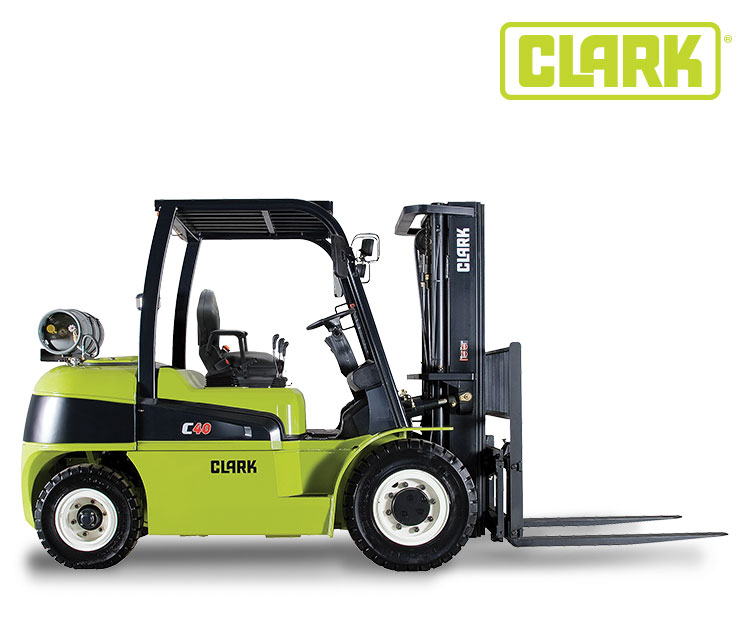 Clark IC 4 Wheel Pneumatic 11000