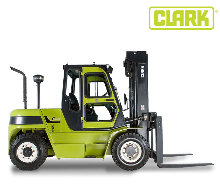 Clark IC 4 Wheel Pneumatic 18000