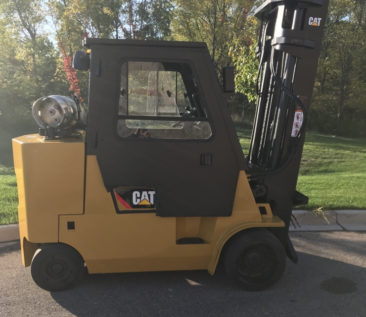 2015 Caterpillar GC55K