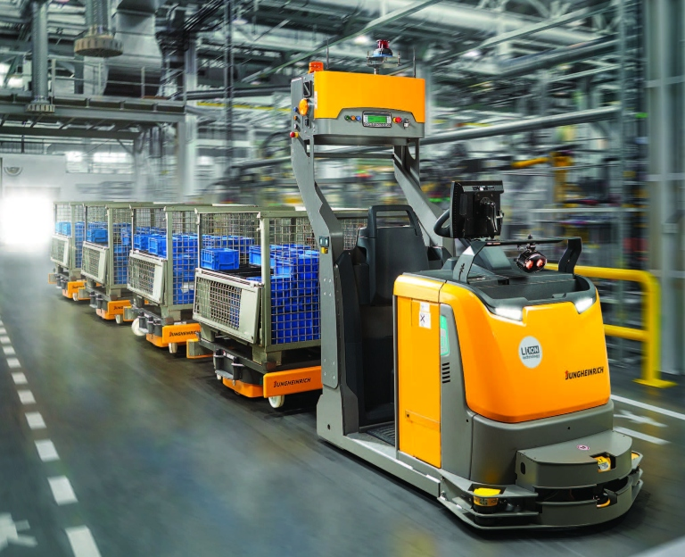 automated-guided vehicle systems mobile