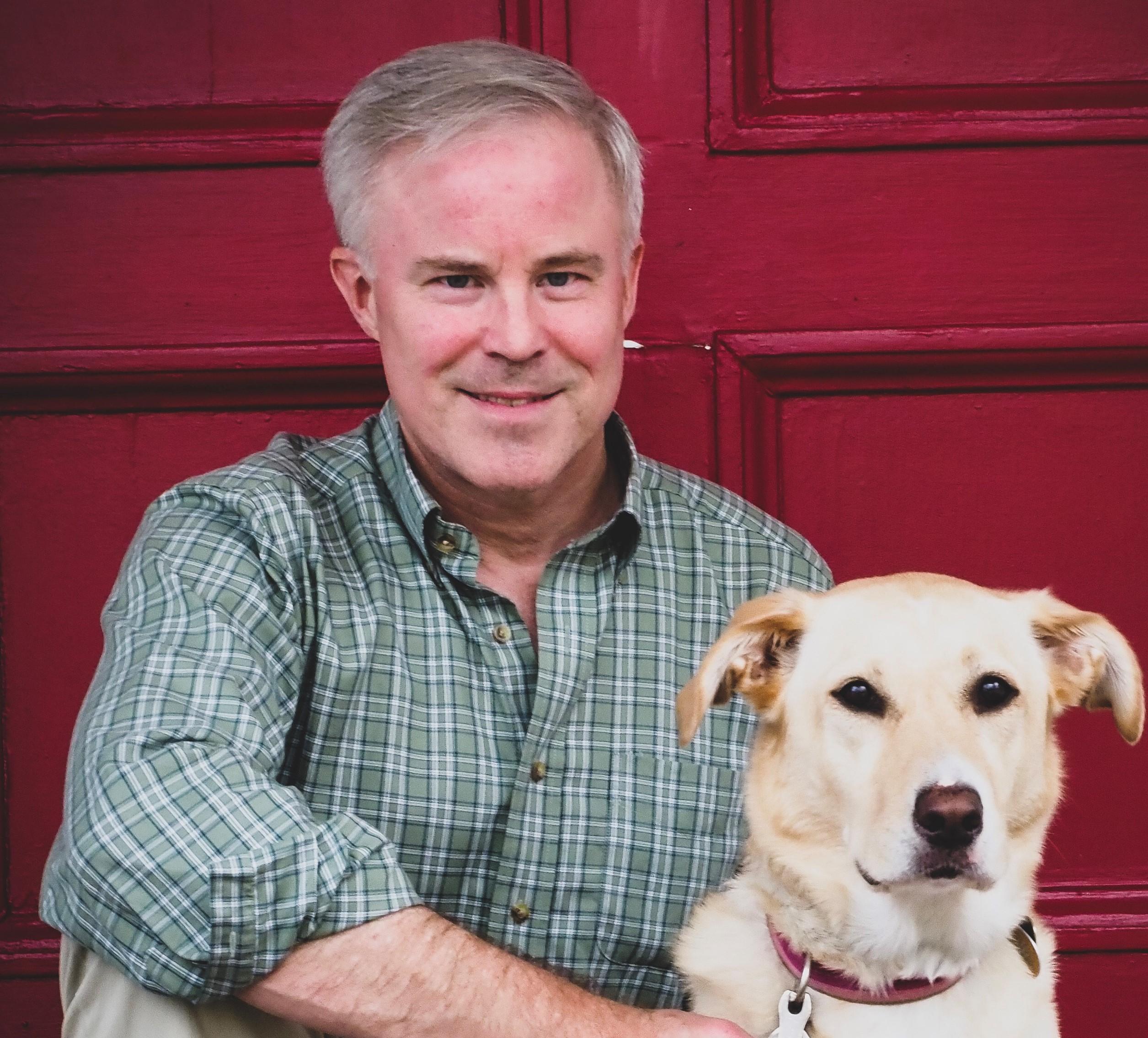 cressman with dog headshot (2)